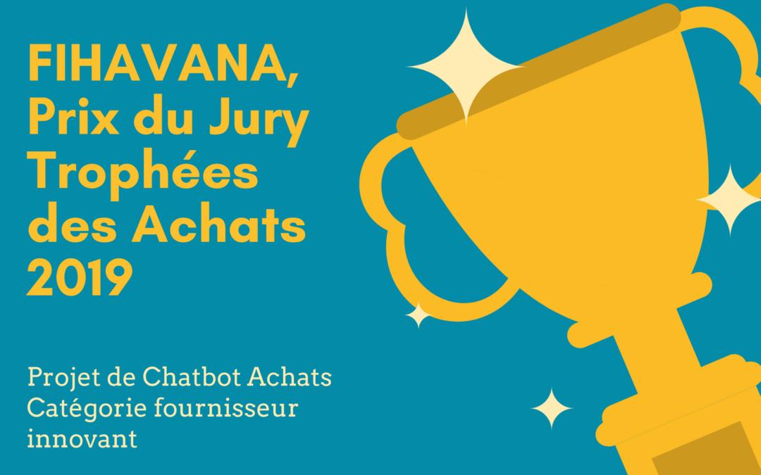 Le chatbot achats de Fihavana primé aux Trophées des Achats 2019